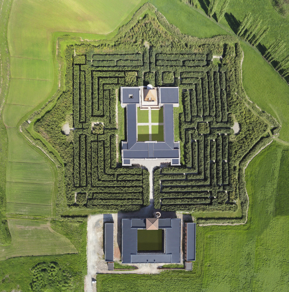 Labirinto Foto aerea (Foto di Carlo Vannini)