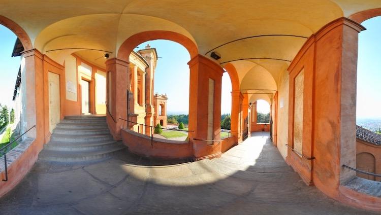 Portico Santuario M. di S. Luca - Bologna